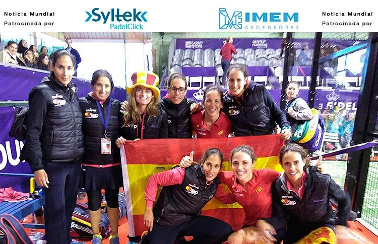 España, Campeona del Mundo Femenina por Selecciones Nacionales