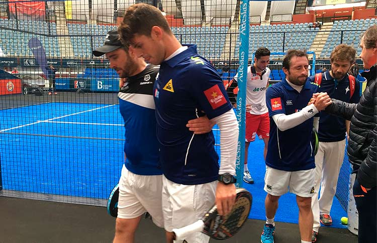Ramiro Moyano se lesiona en el Keler Euskadi Open