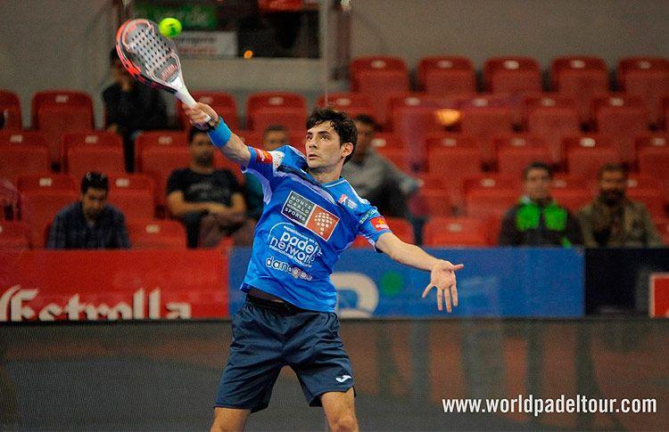 Franco Stupaczuk, tocado tras el Mendoza Open