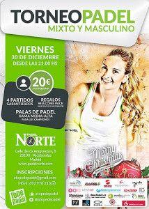 Poster of the Paddle Un torneo di alto livello a Pádel Norte