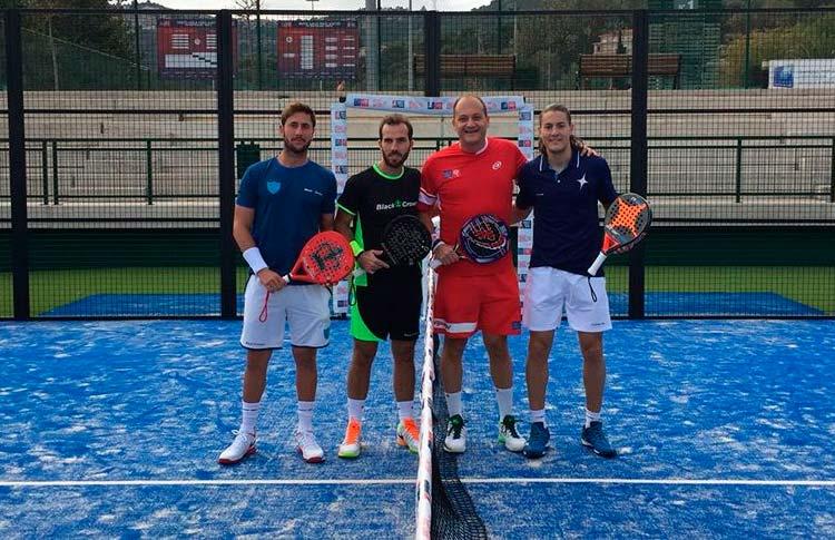 Andoni Bardasco y Fabrice Pastor vencen el Torneo Homologado por la FFT