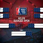 Se acerca el inicio de los cuartos de final masculinos del Keler Euskadi Open