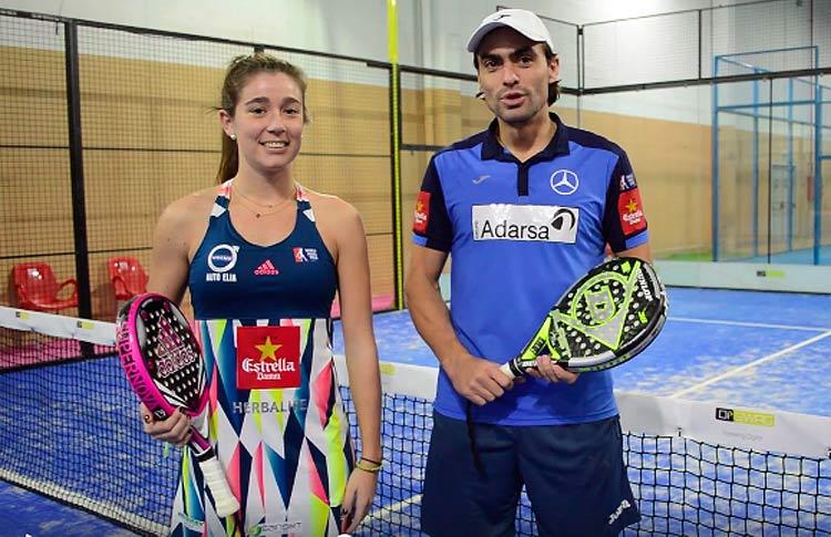 Juani Mieres et Marta Ortega, couple dans le World Tour Tour Mixed Tour