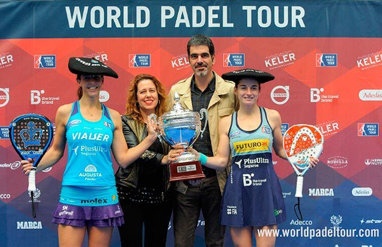 Alejandra Salazar-Marta Marrero, ganadoras del Keler Euskadi Open
