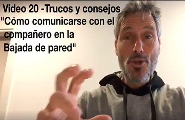 Consejos-trucos de Miguel Sciorilli (XX): Cómo comunicarse para la bajada de pared