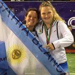 Paula Eyheraguibel jugará con Aránzazu Osoro en el Circuito World Pádel Tour durante 2017