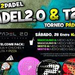 Poster del Time2Pádel Torneo nei campi da paddle 2.0