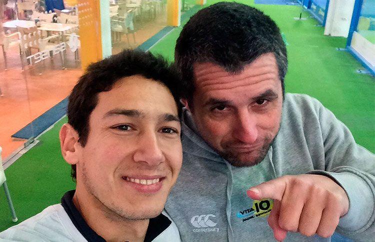 Uri Botello ya trabaja a las órdenes de Raúl Arias