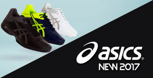 ASICS presenta sus nuevas zapatillas de pádel Gel REsolution 7 y Gel Solution Speed 3 2017