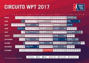 Misterio Resuelto: World Pádel Tour desvela su Calendario para la temporada 2017