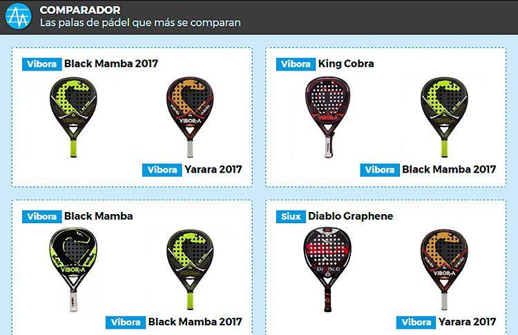 Black Mamba 2017, la pala más comparada