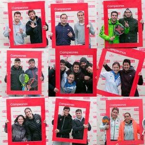 Ganadores de la Iª prueba del Circuito Estrella Damm 2017