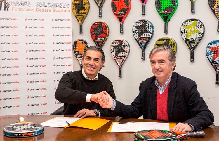 StarVie firma un acuerdo de colaboración con la Fundación Cesare Scariolo