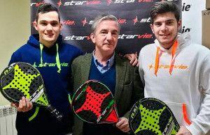 Javier González Barahona y Daniel Castro prolongan su compromiso con StarVie y Grupo Damm