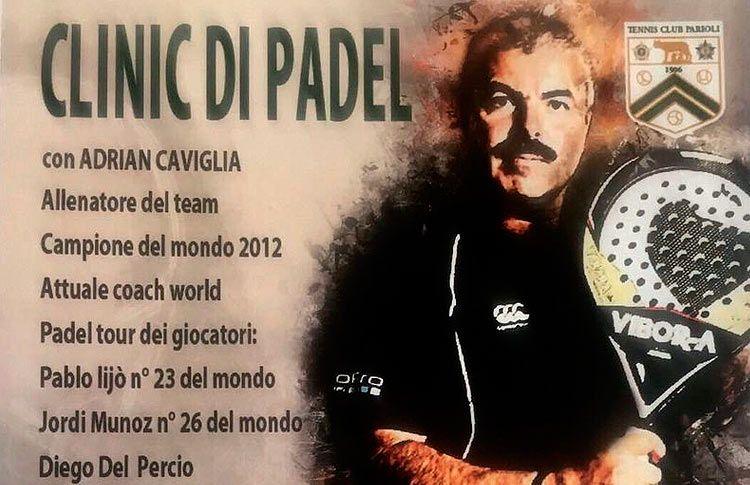 Adrián Caviglia, listo para impartir uno de sus cursos en Roma