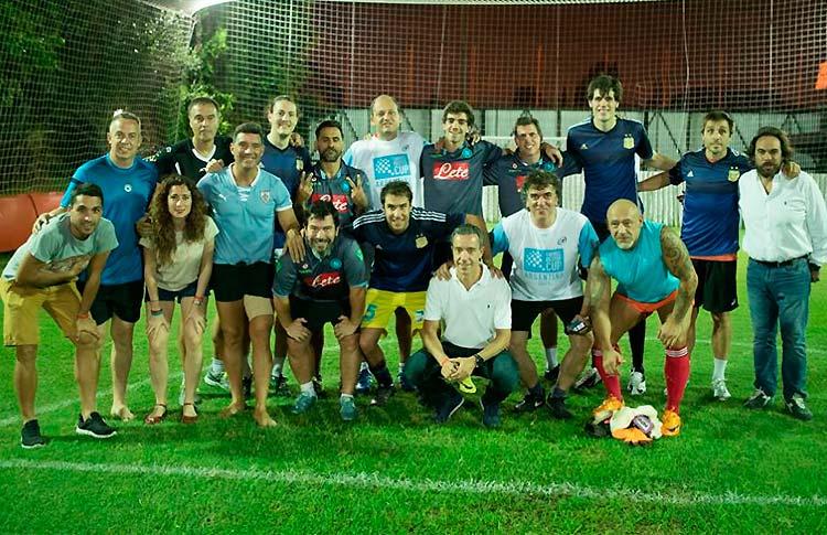 El fútbol se cuela en la Fabrice Pastor Cup