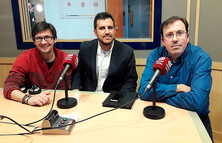 Edgar Dorado, invitado del programa 'Esto es Pádel'