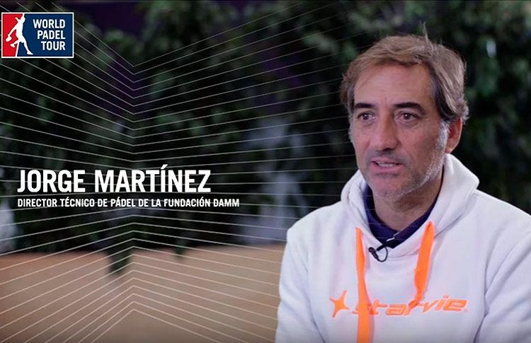 Il World Padel Tour parla con Jorge Martínez