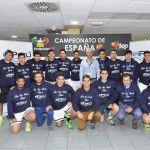O Peru Wellness de Cáceres, no final do Campeonato Espanhol de Equipes da 2ª Categoria