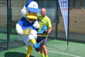 Duck Pádel volará con las zapatillas de Wilson