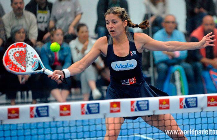 Alejandra Salazar, en acción en el A Coruña Open 2017