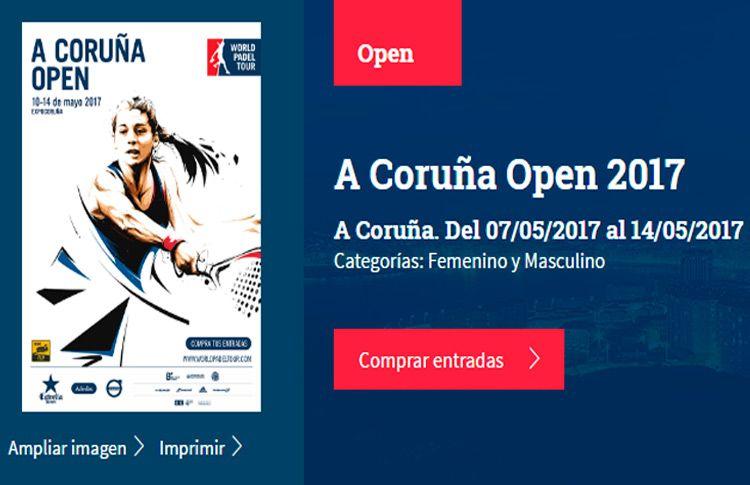A Coruña Open: Todo listo para su inminente puesta en marcha
