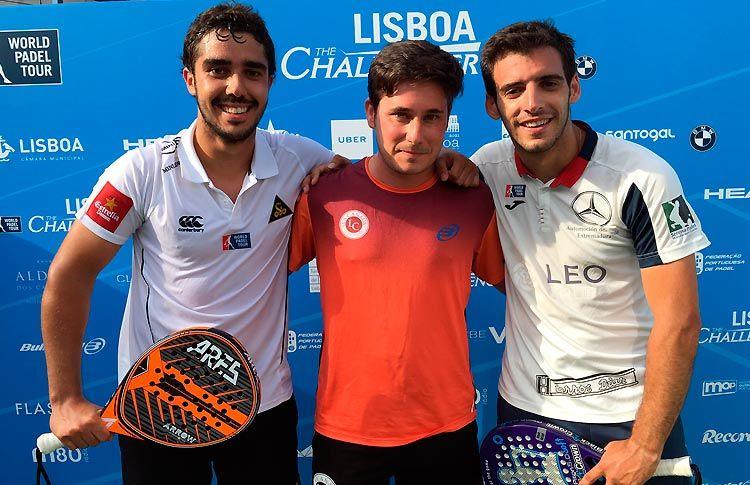 José Antonio García Diestro y Martín Sánchez Piñeiro siguen adelante en el Lisboa Challenger 2017