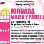 Campanha de Paddle e Mulheres da Federação de Paddle de Madrid