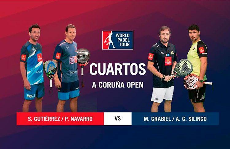 A Coruña Open: Sigue los cuartos de final masculinos, EN DIRECTO