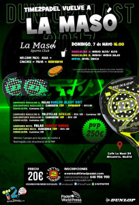 Time2Pádel, listo para su regreso a las pistas de La Masó