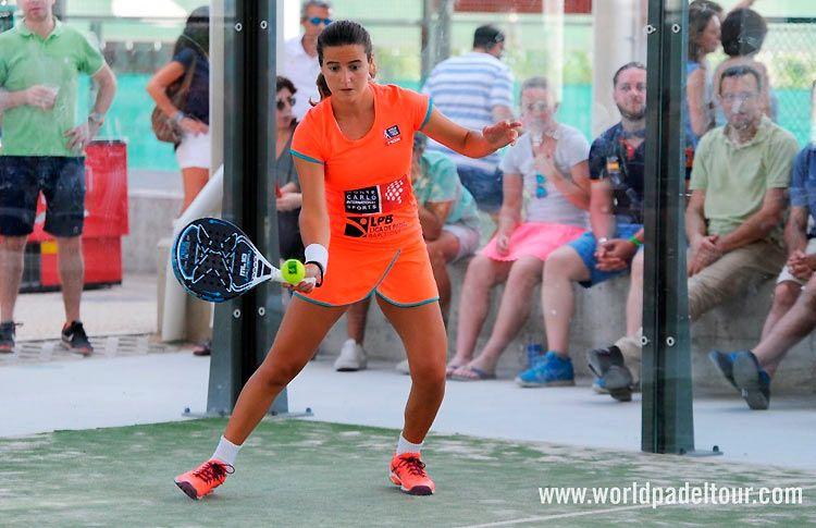 Ari Sánchez, en acción en el Valladolid Open 2017