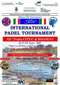 Se acerca el inicio de una nueva edición del Trofeo Cittá di Bologna