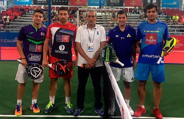Ale Galán y Juan Cruz Belluati siguen adelante en el Joma Madrid Challenger 2017
