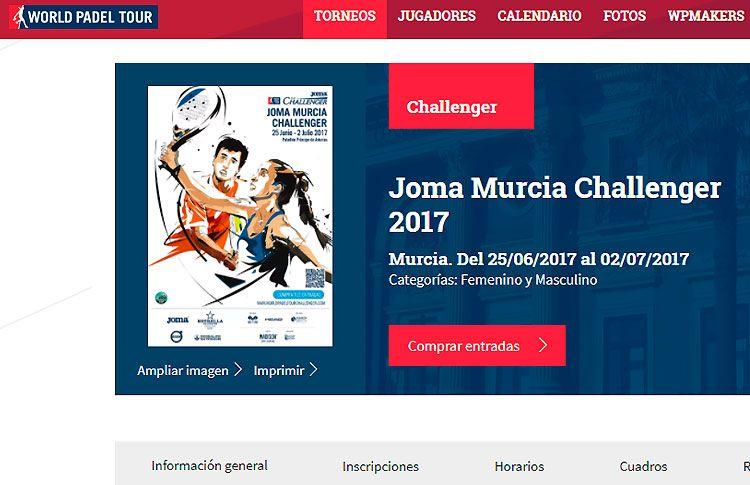 Se sortean los Cuadros del Murcia Challenger 2017