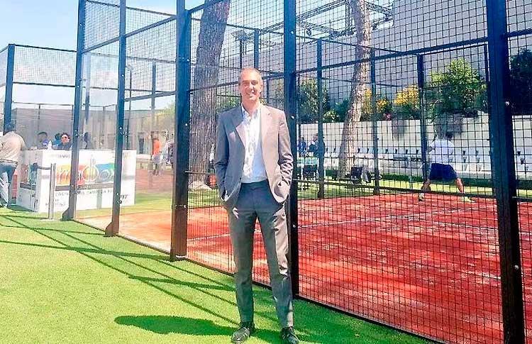 Gianfranco Nirdaci, Presidente del Área de Pádel de la Federación Italiana de Tenis