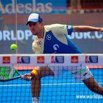 Peter Alonso, en acción en el Valladolid Open 2017