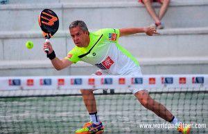 Gaby Reca, en acción en el Valladolid Open 2017