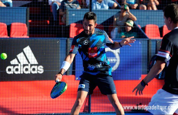 Paquito Navarro y Sanyo Gutiérrez, en acción en el Valladolid Open 2017