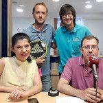 Ana Gómez y Toni Ocete, de Adidas Pádel, invitados al programa Esto es Pádel
