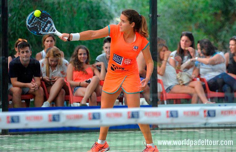 Ari Sánchez, en acción en el Costa del Sol Open 2017