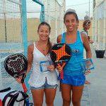 Nela Brito y Bea González estrenan su palmarés como compañeras