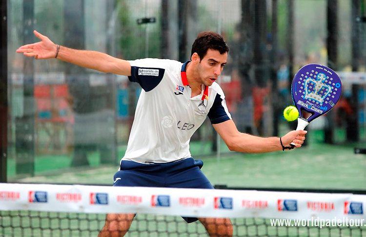 José Antonio García Diestro, en acción en el Costa del Sol Open 2017