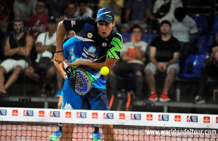 Joseda Sánchez, en acción en el Gran Canaria Open 2017