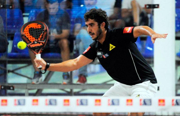 Martín Sánchez Piñeiro, en acción en el Gran Canaria Open 2017