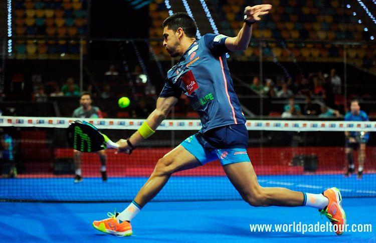 Maxi Sánchez, en acción en el Gran Canaria Open 2017