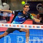 Gonzalo Rubio, en acción en el Gran Canaria Open 2017