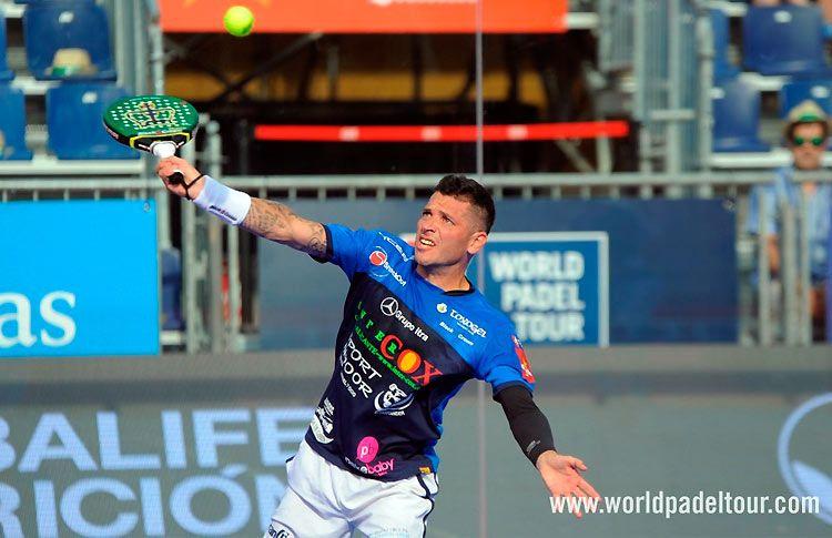 Tito Allemandi, in azione al Valladolid Open 2017