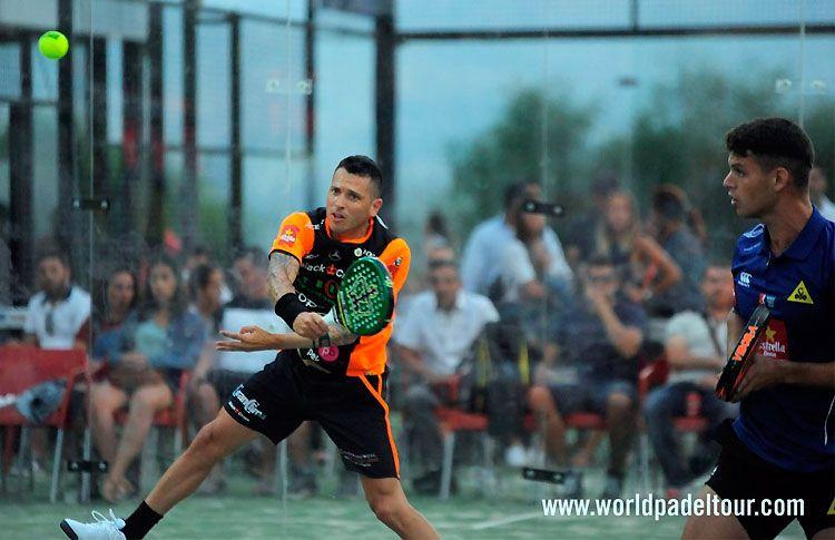 Tito Allemandi-Ramiro Moyano, en acción en el Costa del Sol Open 2017