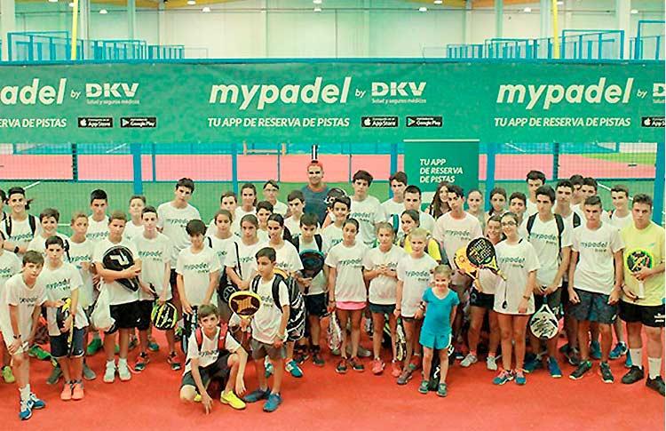 Grand succès du tournoi I Circuit Junior MyPadel by DKV