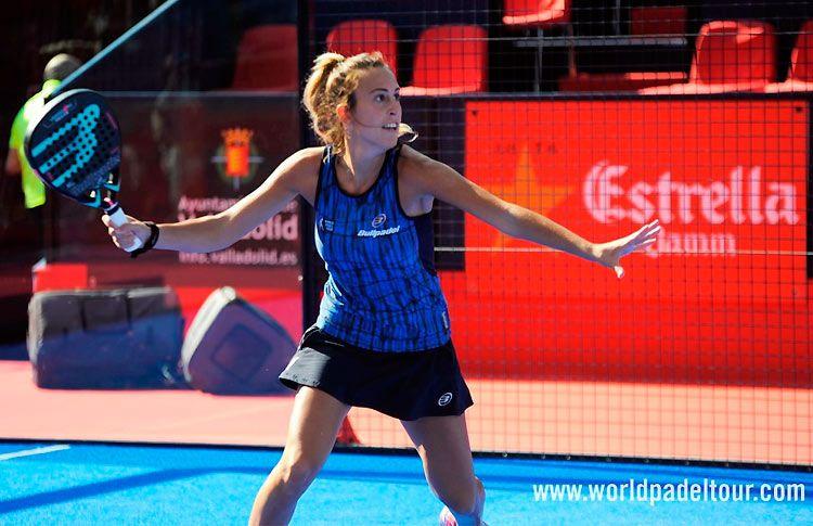 Victoria Iglesias, in azione al Valladolid Open 2017